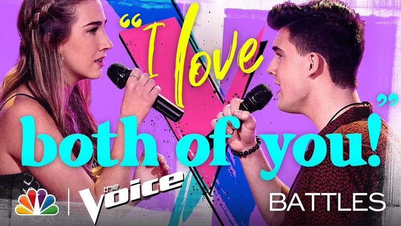Allegra Miles vs Michael Williams Whitney Houston's How Will I Know The Voice Battles 2020