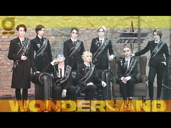 KPOP NOT IN PUBLIC ATEEZ 에이티즈 WONDERLAND dance cover by Gentleman'S✨