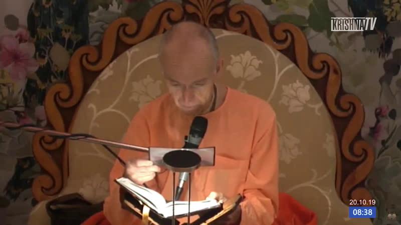 Прямой Эфир. Кришнананда дас, ШБ 6.7.16-21. Храм Шри Шри Даял-Нитай Шачисуты (Москва)