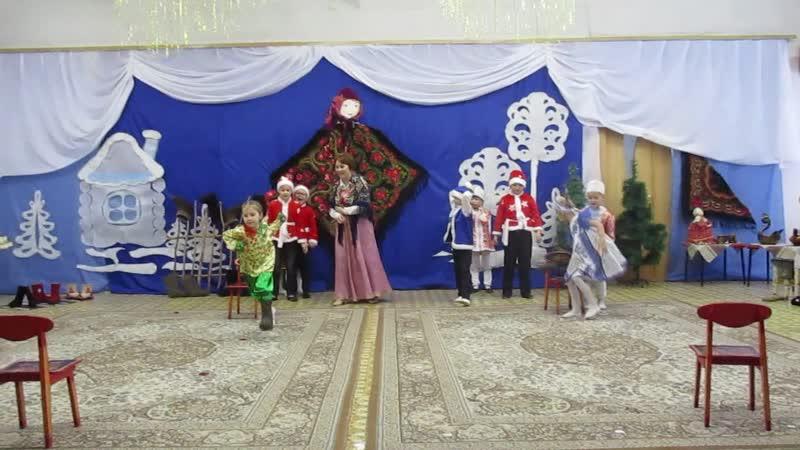 мастер класс в 378 детском саду Русское чудо сибирские валенки 0348