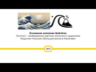 Quiksilver 50 year timeline