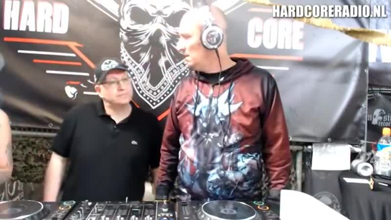 Hardbouncer, Amada, Insanit, Dione and Distortion live at Hardcore fanday
