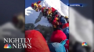 Death Toll Rises On Mt. Everest,  Concerns Of Overcrowding On World's Highest Peak | Nightly News