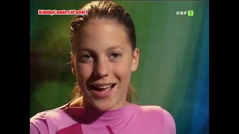 Kiddy Contest 2004 - Die Finalisten: Christina Klein (Vorstellung)