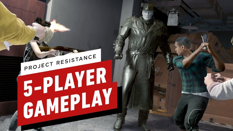 Project Resistance: 5-Player Gameplay in 4K