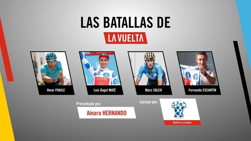 Las batallas de La Vuelta Maillot de la montaña