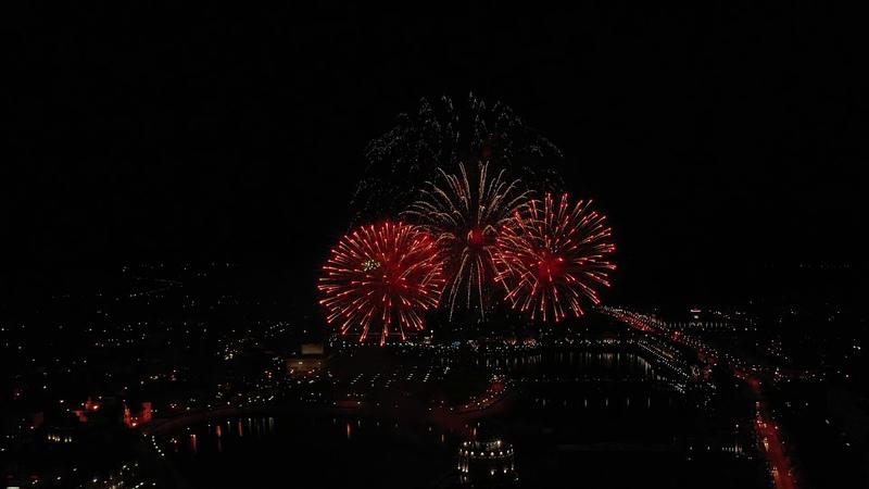 Салют в честь Дня города Йошкар Олы 10 августа 2019 года марийской столице исполнилось уже 435 лет
