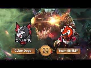 Cyber Dogs vs Team ENEMY