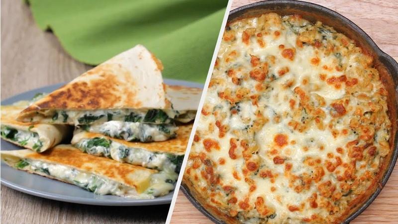 Spinach Artichoke 4 Ways Tasty Recipes