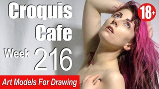 CROQUIS CAFE: Art Models for Drawing, No. 216