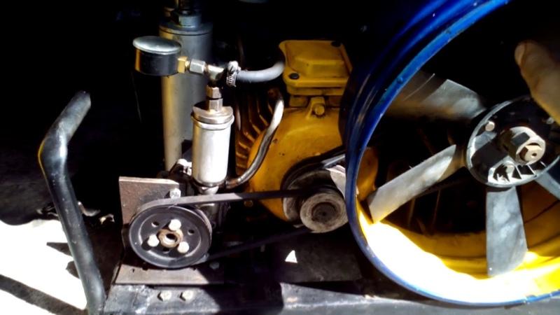 Компрессор для зарядки аквалангов из головки ак-150. САМОДЕЛЬНЫЙ.Compressor home-made.