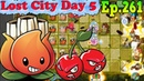 Plants vs. Zombies 2 (China) - A.K.E.E. and Red Stinger - Lost City Day 5 (Ep.261)