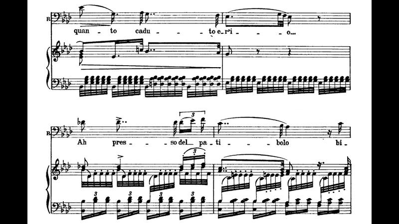 Tutte le feste al tempio Sì vendetta Rigoletto Anna Moffo Robert Merrill with score