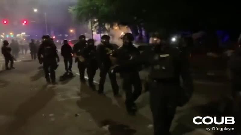 Riot dancer