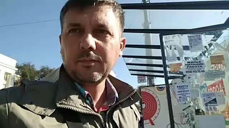Остановочный комплекс на Западном развороте Ц Рынок вторые сутки не восстанавливается город Ростов на Дону Владислав Махм