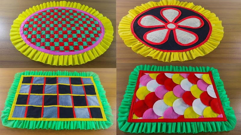 5 Awesome Doormat Ideas ☔ Make Doormat At Home 🎄 Top 5 Paposh Designs 💗