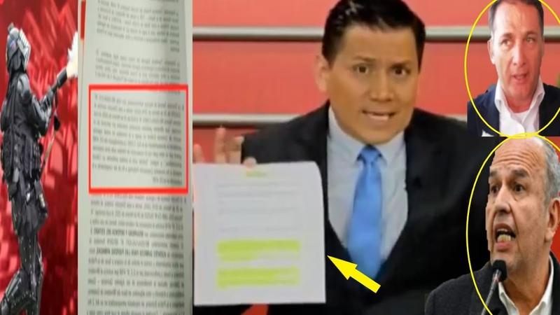 Bolivia Periodista revela más datos de la compra irregular de los gases lacrimógenos
