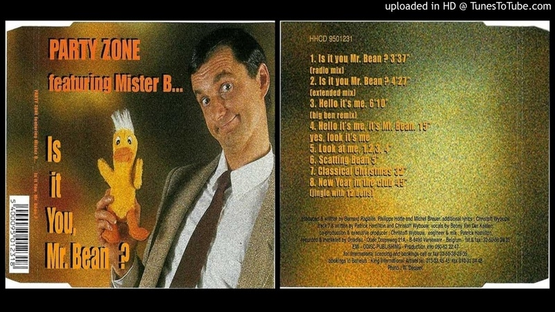 Party Zone featuring Mister Bean – Is It You, Mr. Bean? (Extended Mix – 1995)
