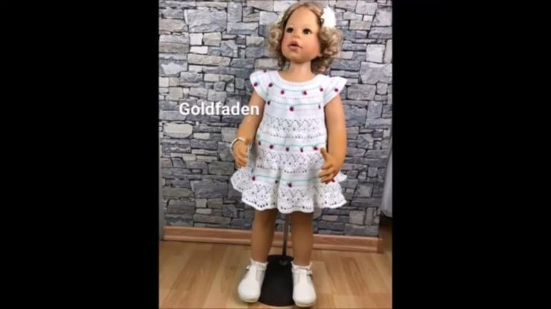 11 Мастер класс Платье для малышки крючком 1 Вязание