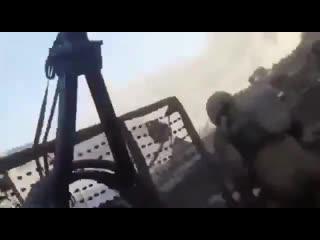 Эпичное видео засады от первого лица