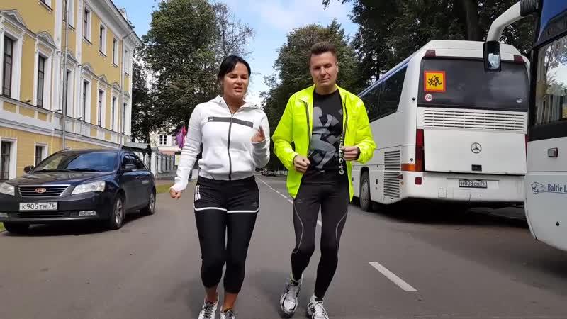 Разговор на бегу с телеведущей Юлией Тихомировой