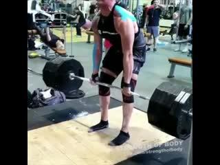 Когда увидел неправильную технику становой тяги