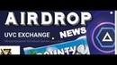 AirDrop UVCExchange НОВОСТИ Обмен и заработок PRIZM криптовалюта