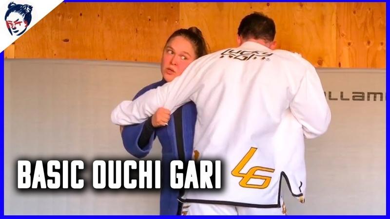 Ronda Rouseys Dojo | Judo Lesson Number 9 Basic Ouchi Gari