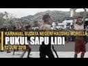 Pukul Sapu Lidi Cilik hebohkan penonton Karnaval Budaya Negeri Hausihu Morella 2019