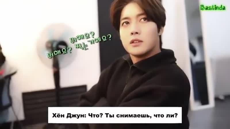 [рус. саб] 2019.11.22 HJ CHANNEL(현중채널) - 10화 현중씨, 뭐해요?