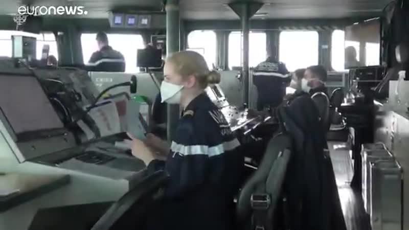 COVID 19 проник на авианосец Шарль де Голль