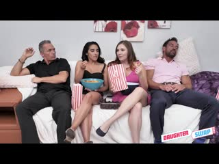 [daughterswap] stephie staar, adrian hush cinephile cum swapping