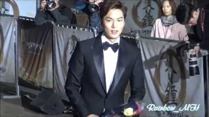 직캠 20151120 LeeMinHo 52nd 대종상영화제 DAEJONG FILM AWARD Best New Actor 수상~~by Rainbow MH