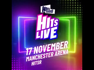 Were SO excited to have @robbiewilliams join us at HitsLive in Manchester next month!