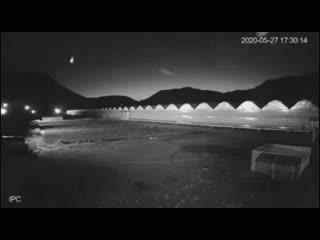 метеорит над Арменией