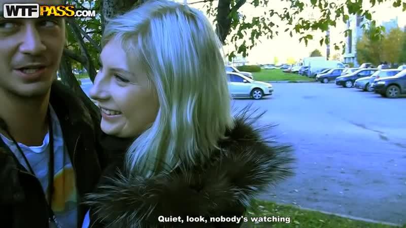 русское порно пикап блондинки