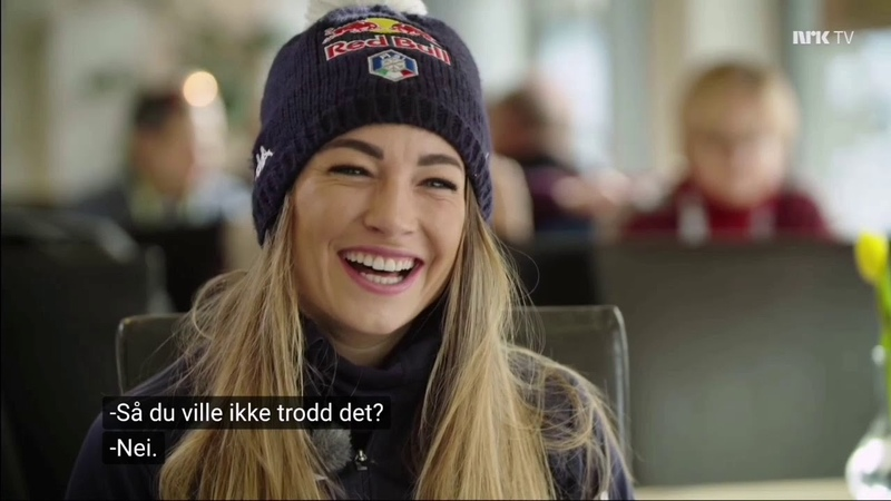 Dorothea Wierer NRK TV 18 2 2020