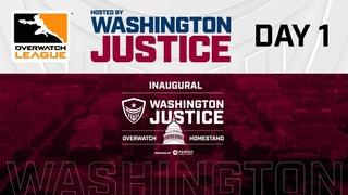 Overwatch League 2020 Season   Hosted By Washington Justice   Day 1