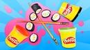 Hamur oyunları. Play-Doh suşi. Oyun hamuru ile okul öncesi etkinlikleri
