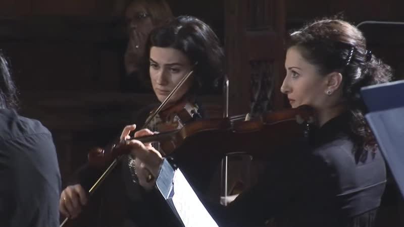 J S Bach J J du Grain J D Pucklitz Cantatas BWV 229 82a BWV 1067 Georgian Sinfonietta Paweł Kotla