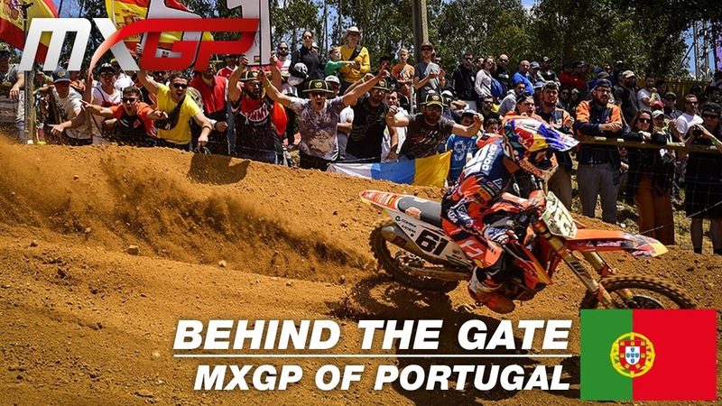 Behind the Gate MXGP of Portugal 2019 Motocross