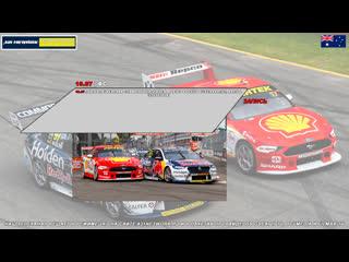 Virgin Australia Supercars Championship: Truck Assist Sydney SuperSprint, Гонка 2,  [A21 Network]