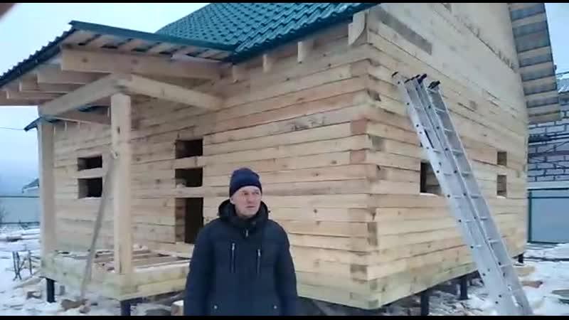 отзыв клиента на дом 8х9 дер Алешково Яросл область