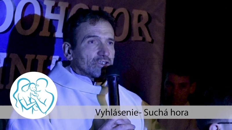 Výzva k pani prezidentke Suchá Hora asi 1000ľudí na pochode Zastavme zlo z Istanbulu