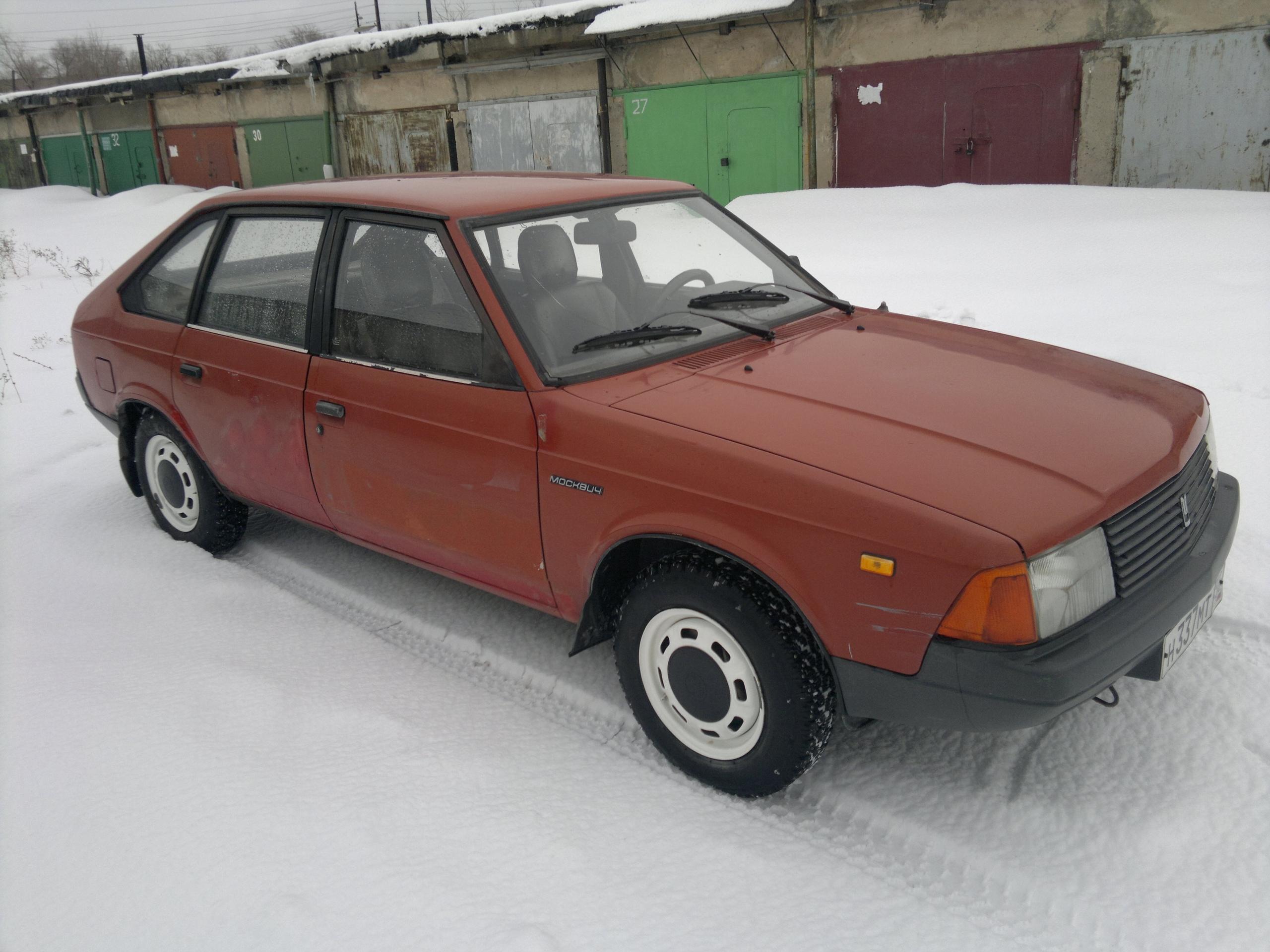 Москвич 2141, год 1989  двигатель ВАЗ 2106,  | Объявления Орска и Новотроицка №3632