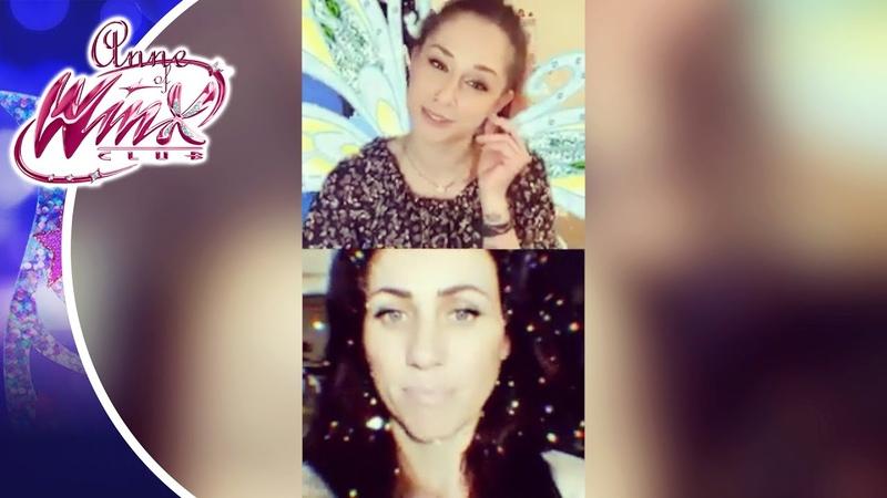 Winx Club Alessia Orlando Elisa Rosselli Livestream 15 03 2020