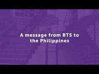 A message from BTS to the Philippines