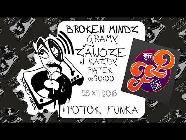 Broken Mindz Radio feat Potok Funka Finger Trips DJ Tamaryan