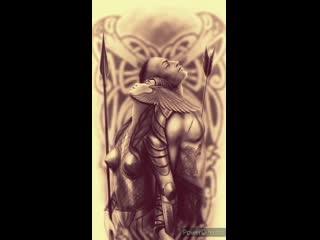 Эскиз для татуировки   Никита Юзуленас