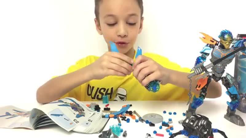 LEGO BIONICLE AKIDA 71302 ЛЕГО БИОНИКЛ АКИДА Обзор конструктора Видео для Де